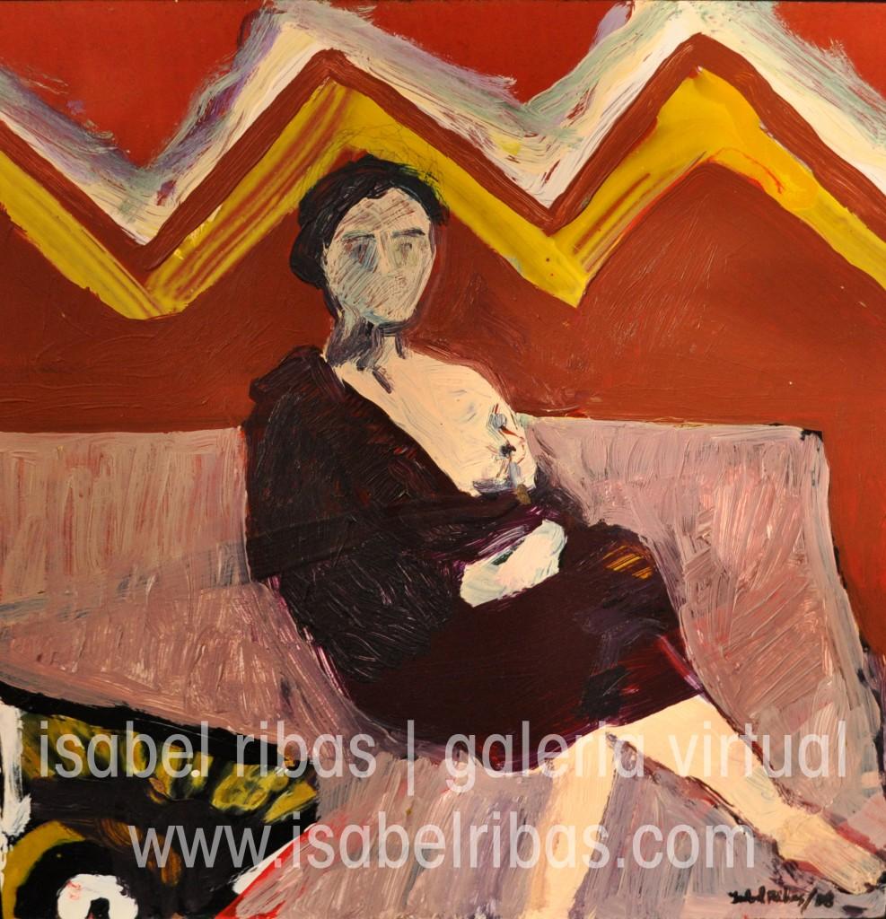 Mulher-sentada | Sitting Woman